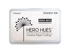 HERO ARTS - permanentní razítkovací barva - BÍLÁ / UNICORN