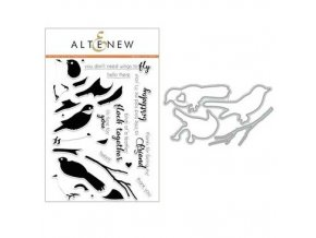 ALTENEW - Birds of a Feather Stamp & Die Bundle