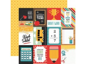 "ECHO PARK PAPER - Back to school - 3"" x 4"" JOURNALING CARDS"