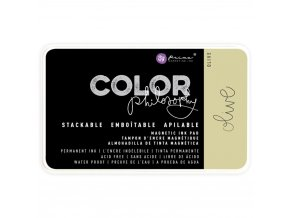 PRIMA MARKETING - Prima Color Philosophy Permanent Ink Pad - OLIVE