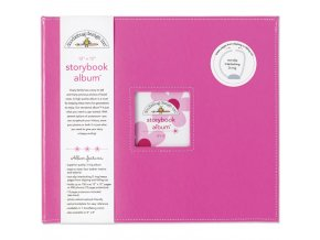 "DOODLEBUG - Storybook Album 12""X12"" - BUBBLE GUM"