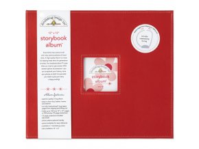 """DOODLEBUG - Storybook Album 12""""X12"""" - LADYBUG"""