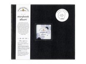 "SCRAPBOOKOVÉ ALBUM 12""X12"" - BEETLE BLACK / DOODLEBUG"