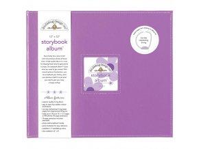 "DOODLEBUG - Storybook Album 12""X12"" - LILAC"