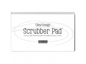 HERO ARTS - Clear Design SCRUBBER PAD
