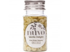 NUVO - Sequins - VANILLA DELIGHT