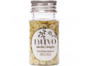NUVO - Sequins - VANILLA DELIGHT