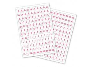 Samolepící abeceda MALÁ - MÁJOVÁ