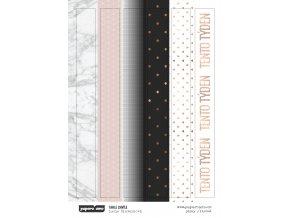 PAPERO AMO - samolepky - TAHLE CHVÍLE / pásky