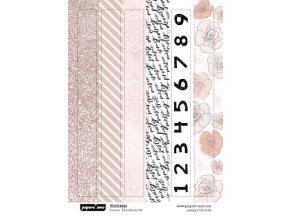 PAPERO AMO - samolepky - TĚHOTENSKÁ / pásky