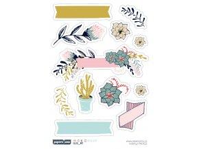 Samolepky - MŮJ PODZIM / Květy