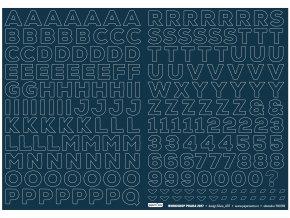 Samolepící abeceda - MOJE RODINA / Velká