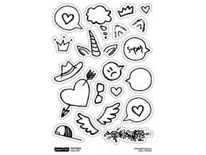 Samolepky - PHOTOBOX / srdce
