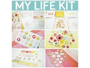 MY LIFE kit - PRVNÍ JARNÍ