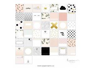 PAPERO AMO - Project Life kartičky - Instagram: PRINCEZNY