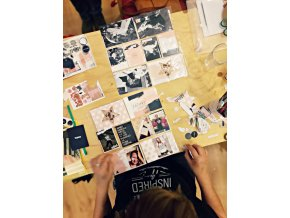 PAPERO AMO - Project Life kartičky - WORKSHOP 2017