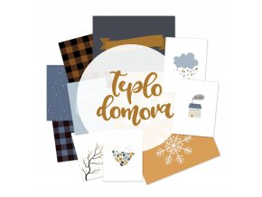PAPERO AMO - Project Life kartičky - MY LIFE kit listopad / prosinec 2017