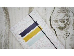 PAPERO AMO - Traveler's Notebook - 2 TĚČKOVANÝ