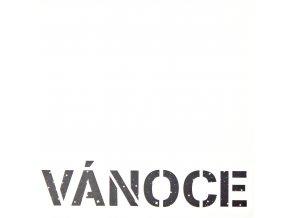 PAPERO AMO - čtvrtka s výsekem - VÁNOCE