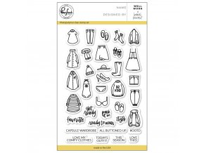 "PINKFRESH STUDIO - Clear Stamp Set 4""X6"" - WELL WORN"