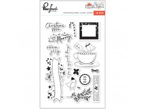 "PINKFRESH STUDIO - Clear Stamp Set 4""X6"" - DECEMBER DAYS"