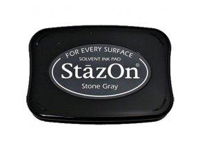 PERMANENTNÍ RAZÍTKOVACÍ BARVA Staz-On - Stone Gray