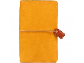 WEBSTER´S PAGES - Color Crush Suede Travelers' Planner - MUSTARD