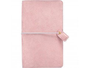 WEBSTER´S PAGES - Color Crush Suede Travelers' Planner - SOFT LILAC