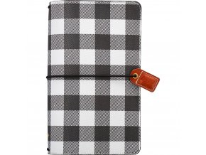 WEBSTER´S PAGES - Color Crush Faux Leather Travelers' Planner - BUFALLO PLAID
