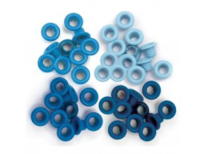 WE R MEMORY KEEPERS - Eyelets Standard - BLUE