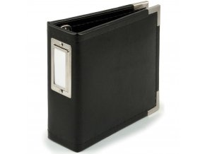 WE R MEMORY KEEPERS - Instagram Classic Leather Album - BLACK