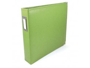 WE R MEMORY KEEPERS - Classic Faux Leather album - KIWI