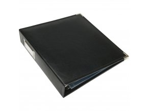 "WE R MEMORY KEEPERS - Classic Faux Leather album 8.5""X11"" BLACK"