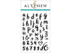 ALTENEW - Stamp Set - CALLIGRAPHY ALPHA