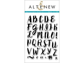 ALTENEW - Stamp Set - CALLIGRAPHY ALPHA UPPERCASE