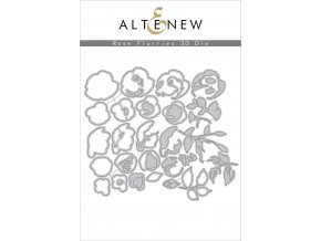 ALTENEW - Die Set - ROSE FLURRIES 3D