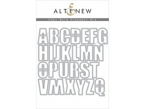 ALTENEW - Die Set - CAPS BOLD ALPHABET