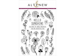 ALTENEW - Stamp Set - HELLO SUNSHINE