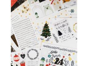 card kit vánoce 2018 papero amo
