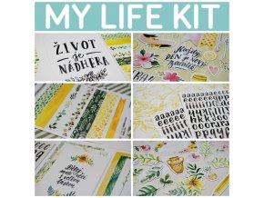 PicMonkey Collage my life kit banner