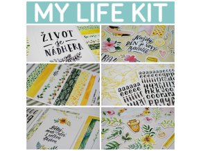 PicMonkey Collage my life kit banner