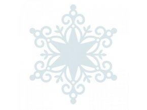 Wonderland 12x12 Die Cut Snowflake 600x600 0