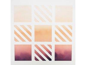 9 čtverců výseková čtvrtka Papero amo