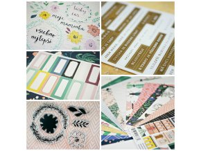 PicMonkey Collage card kit duben