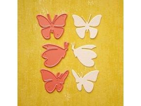 vyrezavaci sablona motýl