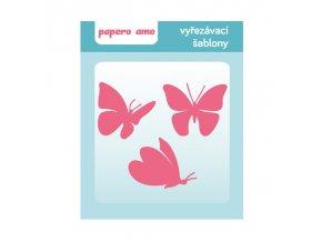 motyli sablony