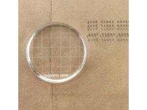 Akrylový bloček na razítka - 7 cm