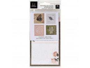 Papírové ozdoby a samolepky - STORYLINE CHAPTERS / Postcards