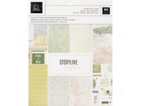 Sada papírů a samolepek - STORYLINE CHAPTERS / Scrapbooker
