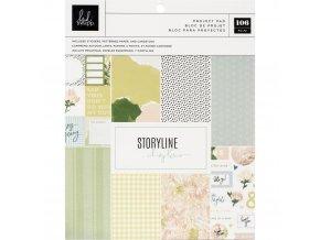 Sada papírů a samolepek - STORYLINE CHAPTERS / Planner